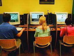 Internet Cafe Spain